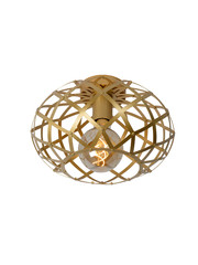 Lucide Plafondlamp Wolfram goud