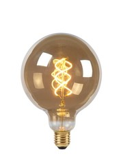 Lucide Filament Led 5 watt  Smoke 12,5 cm