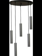 Master Light Hanglamp Run 5 lichts rond