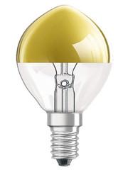 Osram Kopspiegel kogellamp Goud E14