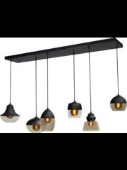 Master Light Hanging lamp Opaco 6 lights
