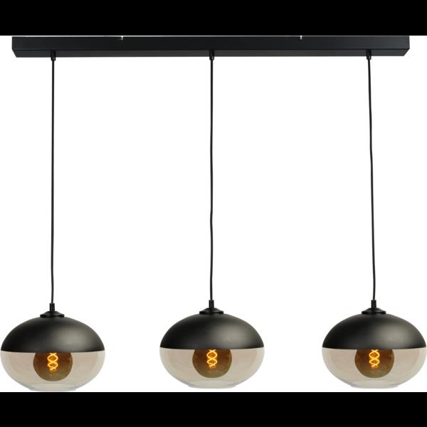 Master Light Hanging lamp Opaco 3 light bar