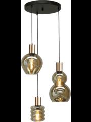 Master Light Hanging lamp Bounty 3 lights round