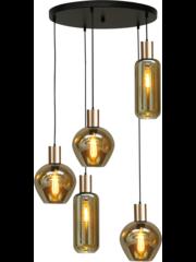 Master Light Hanging lamp Bounty 5 lights round