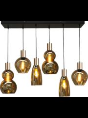 Master Light Hanglamp Bounty 6 lichts zigzag