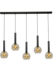 Master Light Hanglamp Bella 5  lichts balk