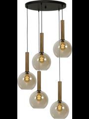 Master Light Hanglamp Bella  5  lichts rond