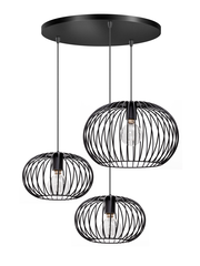 ETH Hanging lamp Wire Trio round