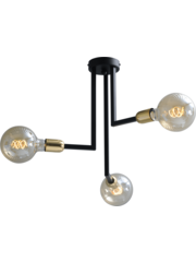 Master Light Plafondlamp Tube 3 lichts