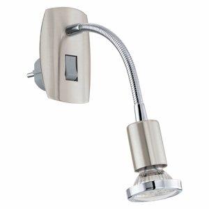 Eglo Plug-in light Mini4 Flex stainless steel