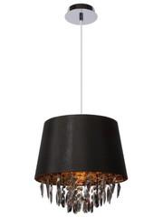 Lucide Hanging lamp Dolti Black