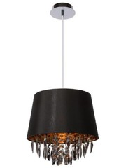 Lucide Hanging lamp Dolti Black