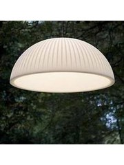 Formadri Hanging lamp Basic Dome 90 cm Ribbel
