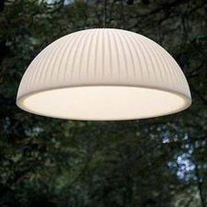 Formadri Hanging lamp Basic Dome 90 cm Ribbel