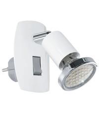 Eglo Stopcontact lampje  Mini4 Wit