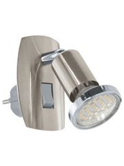 Eglo Stopcontact lampje Mini4 RVS