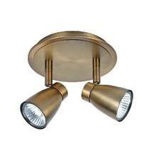 HighLight lampen  Spot Mirage Brons 2 lichts