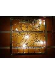 Light Collection Verlichting Wandlamp Quadro Rvs