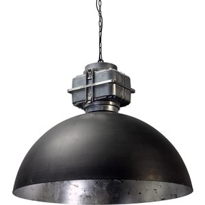 Master Light Hanging lamp Larino Black 80 cm