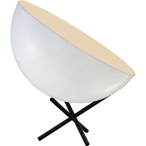 Master Light Table lamp Larino 40 cm White