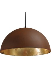 Master Light Hanging lamp Larino Rust / Gold wire