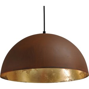 Master Light Hanging lamp Larino Rust 40 cm