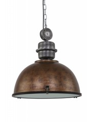 Steinhauer Hanging lamp Bikkel XXL Brown