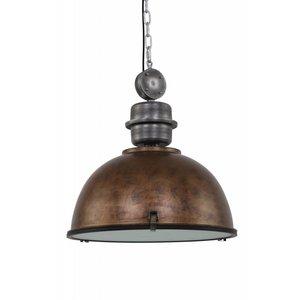 Steinhauer Hanging lamp Bikkel XXL Brown