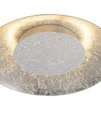 Lucide Plafondlamp Foskal Zilver Led 34,5 cm