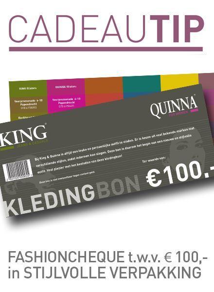 Fashioncheque van € 100,-