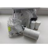 HOTHOT IN007W - Thermostatic corner radiator valve set - white