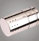 HOTHOT IN008CH - Thermostatisches Design-Set Eck für Warmwasserbetrieb Chrom