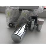 HOTHOT IN008CH - Thermostatic corner radiator valve set - chrome