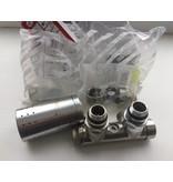 HOTHOT IN012IXL - Mittenanschluss-Set mit Thermostatkopf Edelstahl (links)