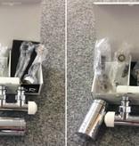 HOTHOT T021CHL / T021CHR - Mittenanschluss-Set mit Thermostatkopf Chrom (links/rechts)