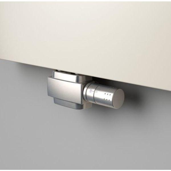 T025IXSD - Thermostatisches Mittenanschluss-Set mit Blende Edelstahl