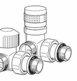 HOTHOT T034IXL / T034IXR - Thermostatisches Winkel-Eckventil Edelstahl Links-/Rechtsanschluss