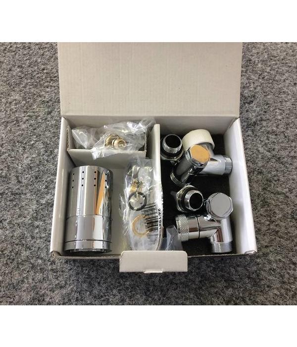HOTHOT T035WL / T035WR - Thermostatisches Set für Mischbetrieb Weiß (links/rechts)
