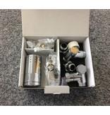 HOTHOT T036CHL / T036CHR - Thermostatisches Set für Mischbetrieb Chrom (links/rechts)