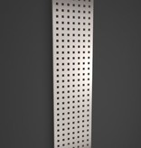 HOTHOT VELVET  SQUARES INOX - Dekorativer Heizkörper mit vorderem Teil aus Edelstahl