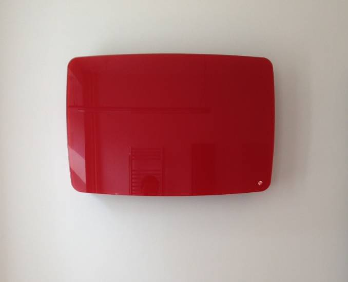 Installation of glass radiator – Crystal Line Round radiator