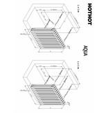 HOTHOT AQUA III. - Design-Gliederheizkörper