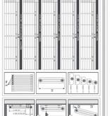 HOTHOT AQUA II. - Column Vertical Radiator - Column Horizontal radiator