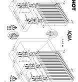 HOTHOT AQUA VI. - Gliederheizkörper aus Stahl mit hoher Leistung