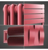 HOTHOT Radiator in Antique pink colour RAL 3014