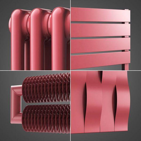 Antique pink colour RAL 3014