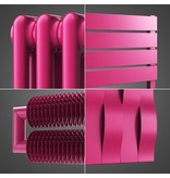 HOTHOT Radiator in Telemagenta Colour RAL 4010