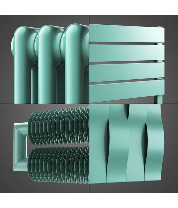 HOTHOT Radiateur en couleur turquoise pastel RAL 6034