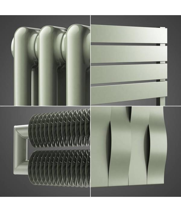 HOTHOT Radiator in Agate grey Colour RAL 7038