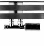 HOTHOT T033CHL / T033CHR - Thermostatic radiator valve set left/right - chrome